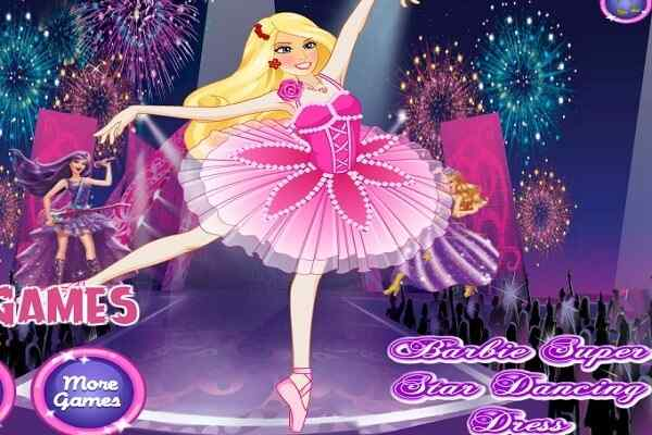 Play Barbie Super Star Dancing Dress