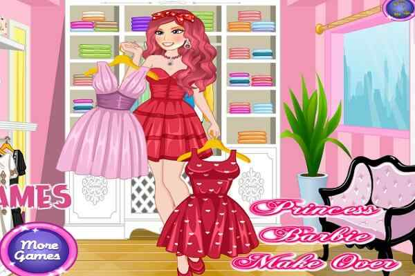 Play Princess Barbie Makeover