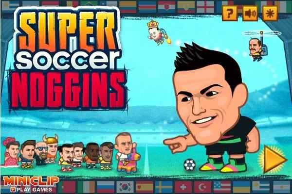 Play Super Soccer Noggins