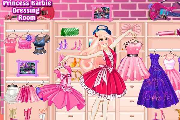 Play Princess Barbie Dressing Room