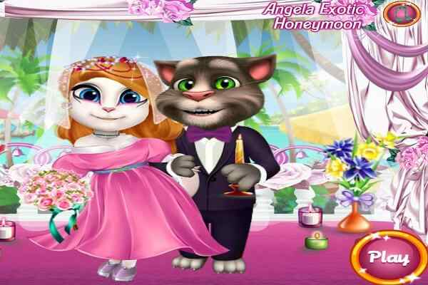 Play Angela Exotic Honeymoon
