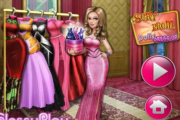 Play Sery Prom Dolly Dress Up