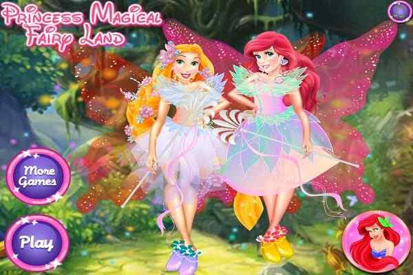 Play Princess Magical Fairy Land