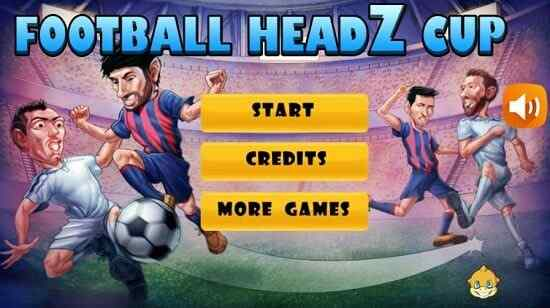 Play Football Headz Cup
