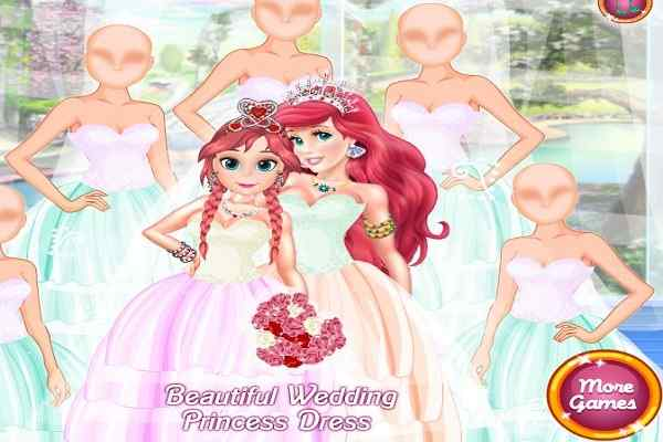 Play Beautiful Wedding Princess Dress