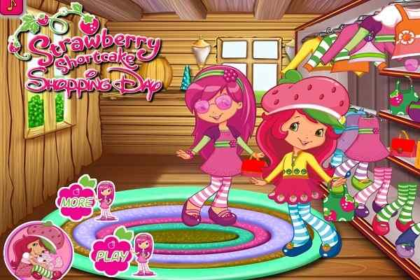 Play Strawberry Shortcake Shopping Day