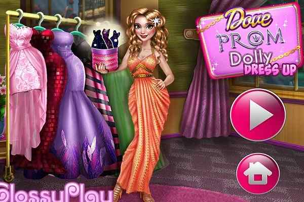 Play Dove Prom Dolly Dress Up