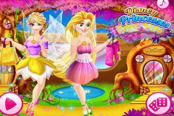 Play Disney Princesses Fairy Mall