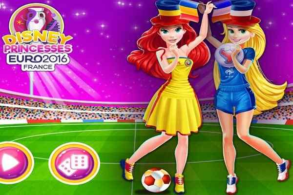 Play Disney Princesses Euro 2016