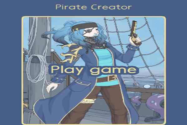 Play Pirate Girl Creator