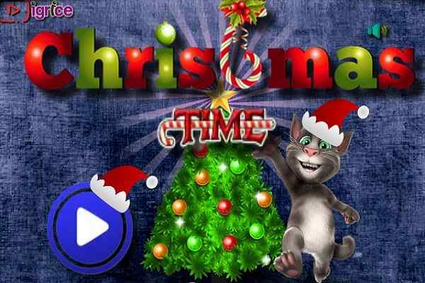 Play Talking Tom Christmas Time
