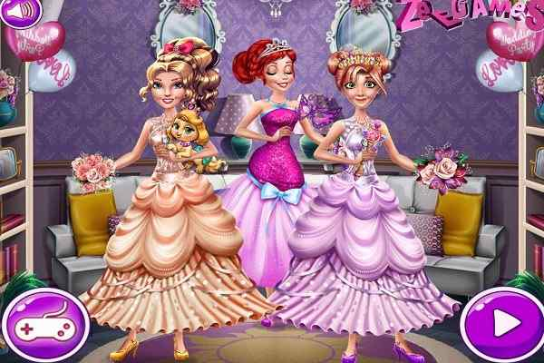 Play Princesses Homecoming Party