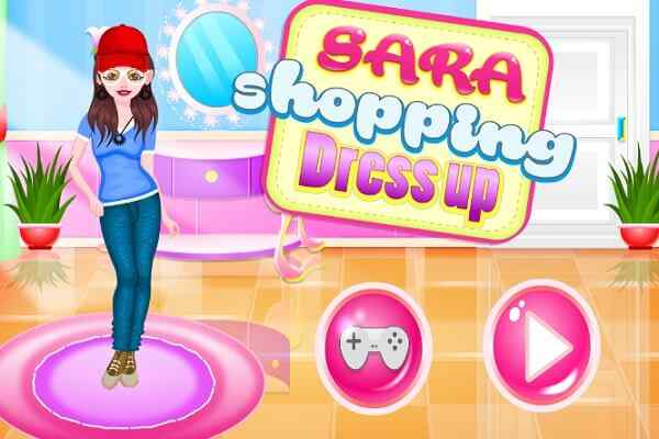 Play Sara Shopping Dress Up