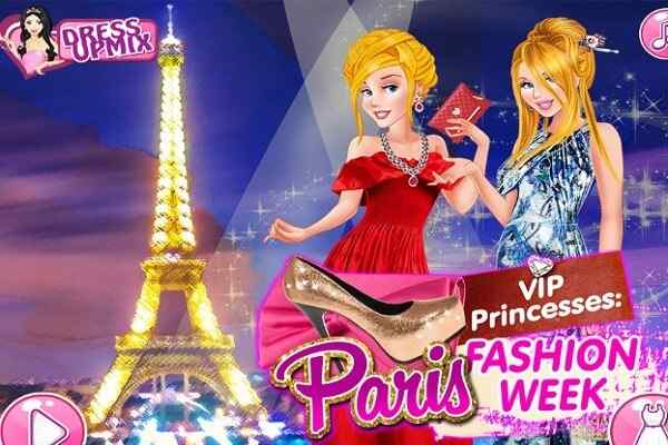 Play VIP Princesses Paris Fashion Week