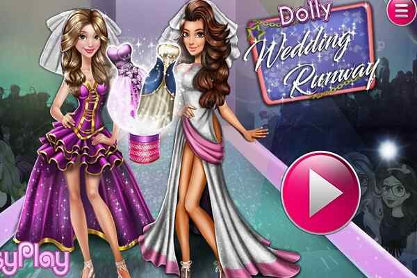 Play Dolly Wedding Runway