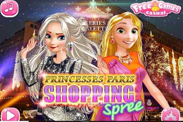 Play Princesses Paris Shopping Spree