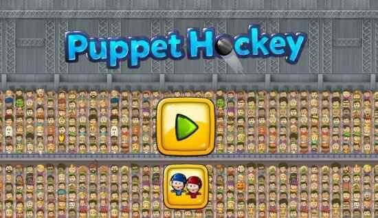 Play Puppet Ice Hockey