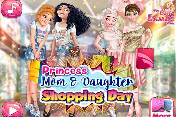 Play Disney Mom Daughter Shopping Day