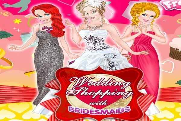 Play Wedding Shopping with Bridesmaids