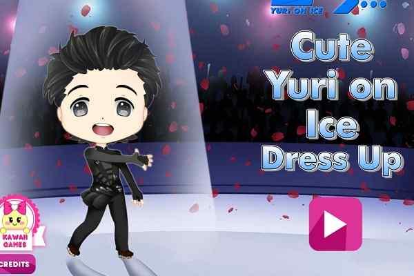 Play Cute Yuri on Ice Dress Up