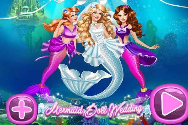 Play Mermaid Doll Wedding
