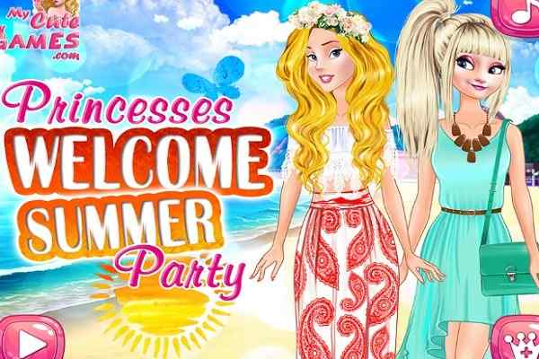 Play Princesses Welcome Summer Party