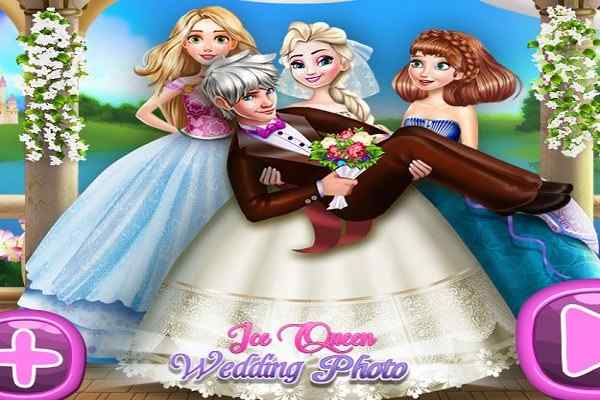 Play Ice Queen Wedding Photo