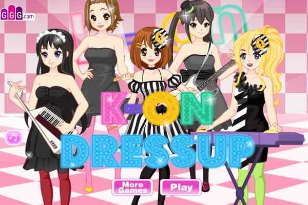 Play KOn Dress Up