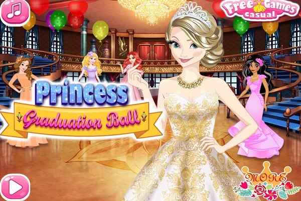 Play Princess Graduation Ball