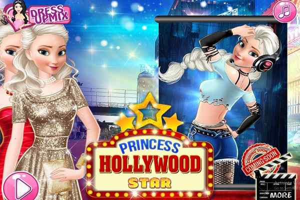 Play Princess Hollywood Star