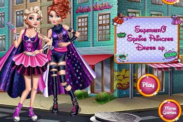 Play Superhero Spring Dress up