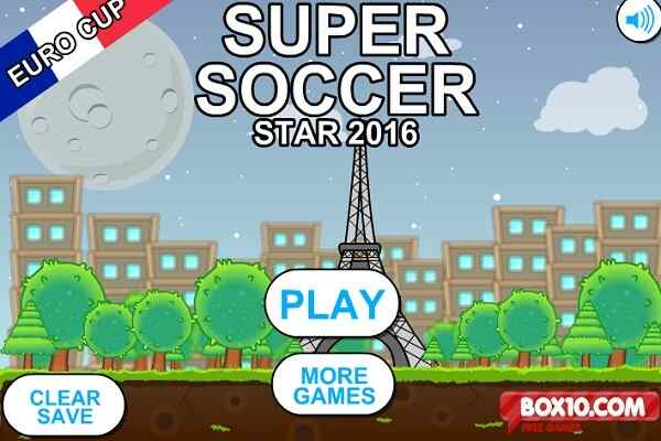 Play Super Soccer Star 2016: Euro Cup