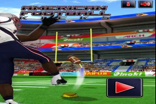 Play American Football Kick