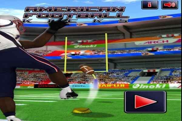 Play American Football Kick