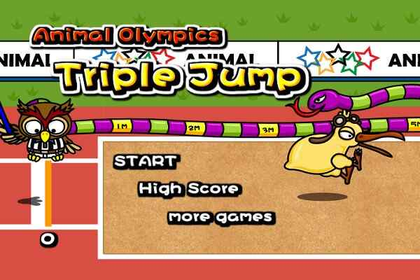Play Animal Olympics - Triple Jump