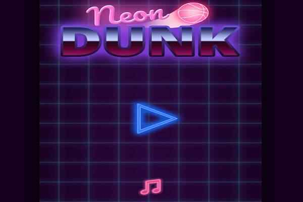 Play Neon Dunk