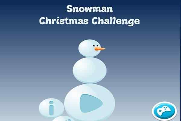 Play Snowman Christmas Challenge