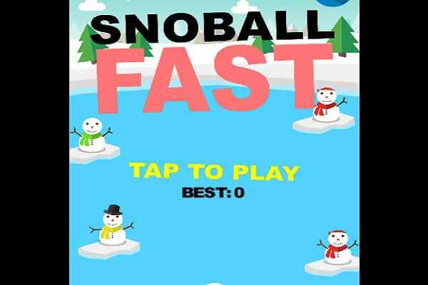 Play Snowball Fast