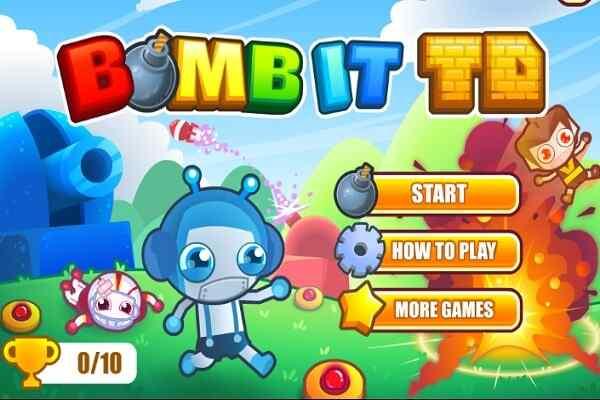 Play Bomb It TD