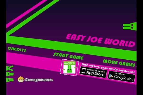 Play Easy Joe World