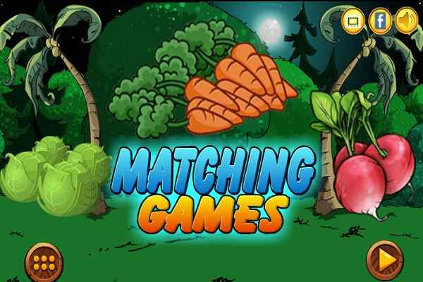 Play Vegetables Matching Games