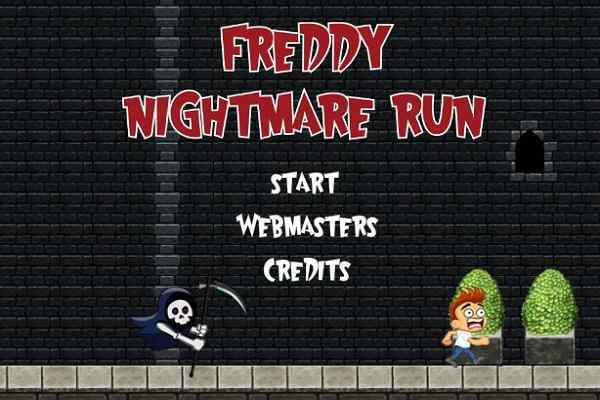 Play Freddy Nightmare Run
