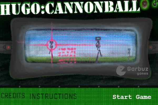 Play HUGO Cannonball