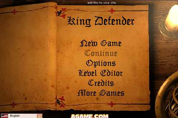 Play King Defender