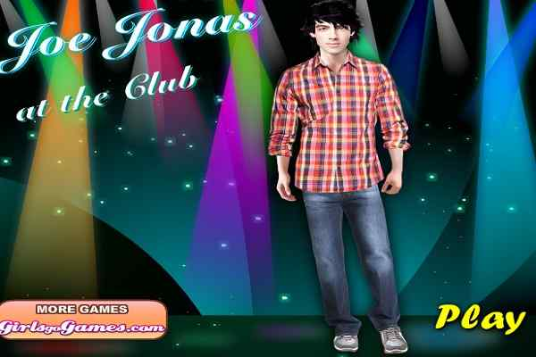 Play Joe Jonas at the Club