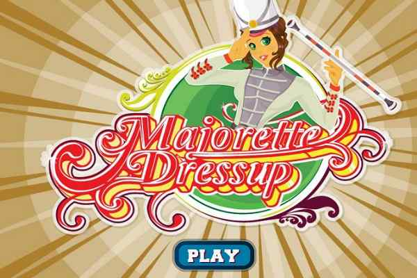 Play Majorette Dress Up