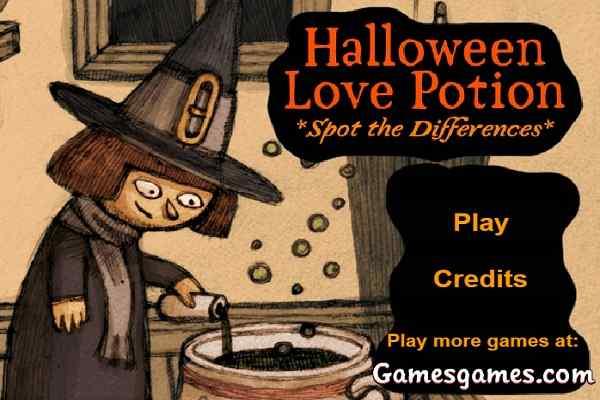 Play Halloween Love Potion