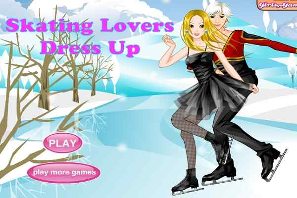 Play Skating Lovers Dress Up