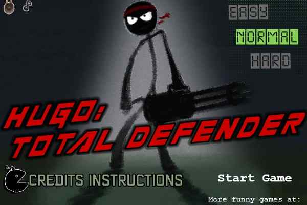 Play HUGO Total Defender