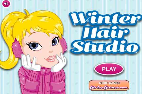 Play Winter Hair Studio